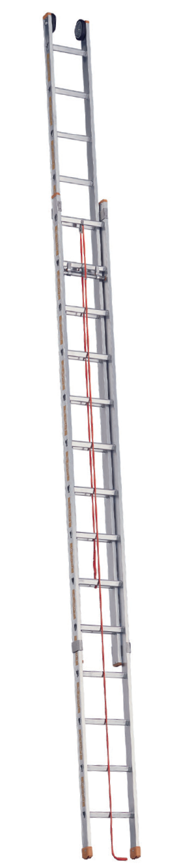 Lynu ištraukiamos kopėčios TOPIC 1037 ilgis 12,50m 1