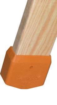 Viengubos medinės kopėčios 1052 ilgis 2,45m 2