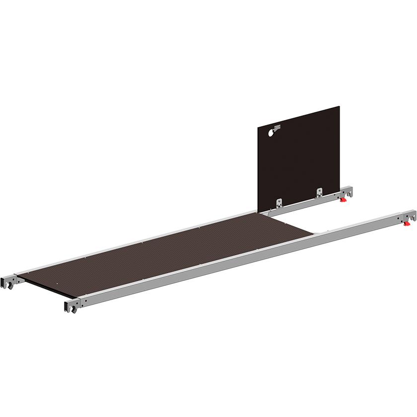 Paklotas su liuku 2,85 m 1