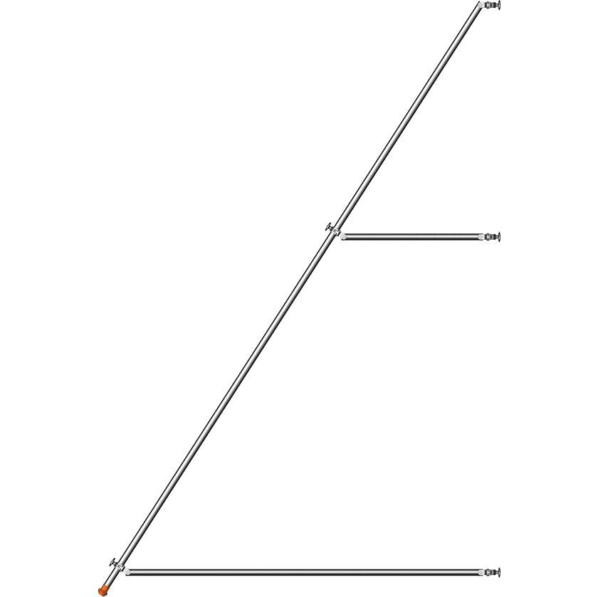 Bokštelio atrama, 5,00 m 1