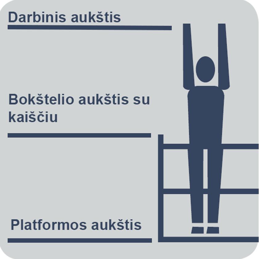 darbinis aukštis
