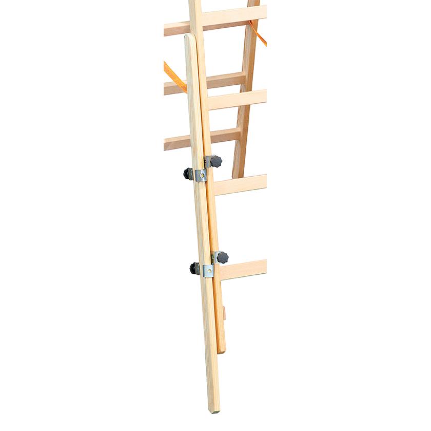 Medinių kopėčių kojų prailginimo komplektas EasyFix 1