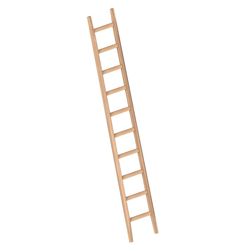 Viengubos medinės statybininkų kopėčios 1036 1