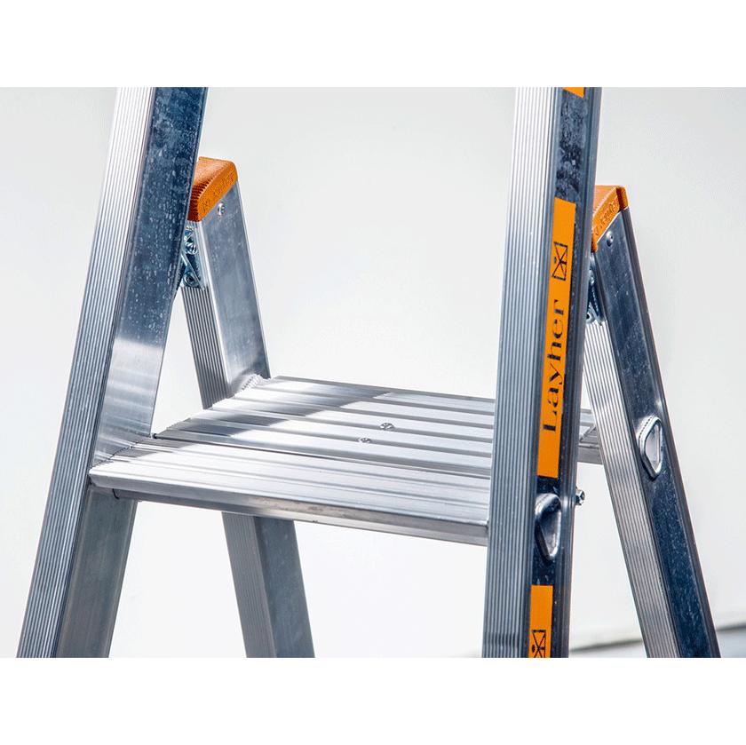 Dvigubos pristatomos kopėčios, skirtos lipti iš vienos pusės TOPIC 1064 3